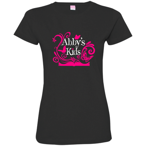 Abby's Kids -  Ladies' Fine Jersey T-Shirt