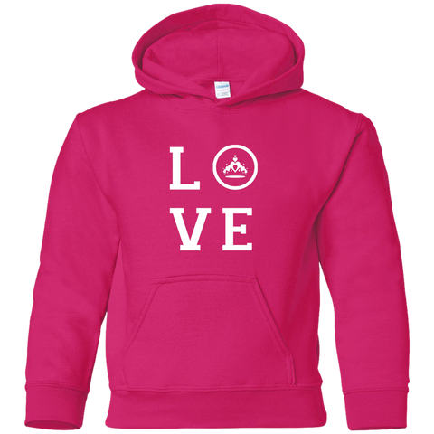 Pageant Love Youth Pullover Hoodie