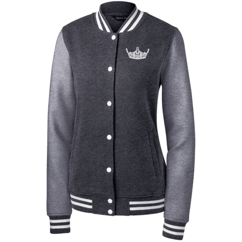 Image of Miss Clark County - Women's Fleece Letterman Jacket