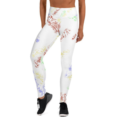 Rainbow Tie Dye Yoga Leggings