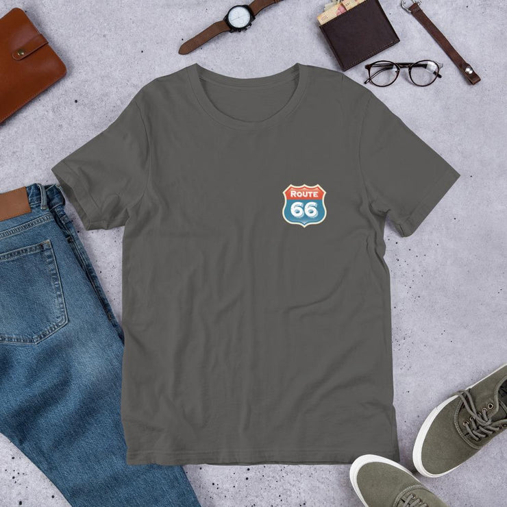 Route 66 Short-Sleeve Unisex T-Shirt