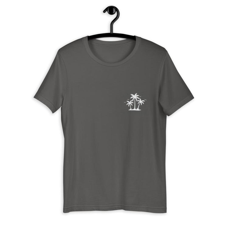Palm Trees Silhouette Short-Sleeve Unisex T-Shirt