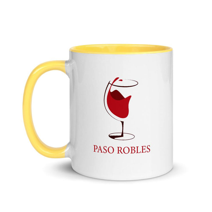 Paso Robles Mug with Color Inside