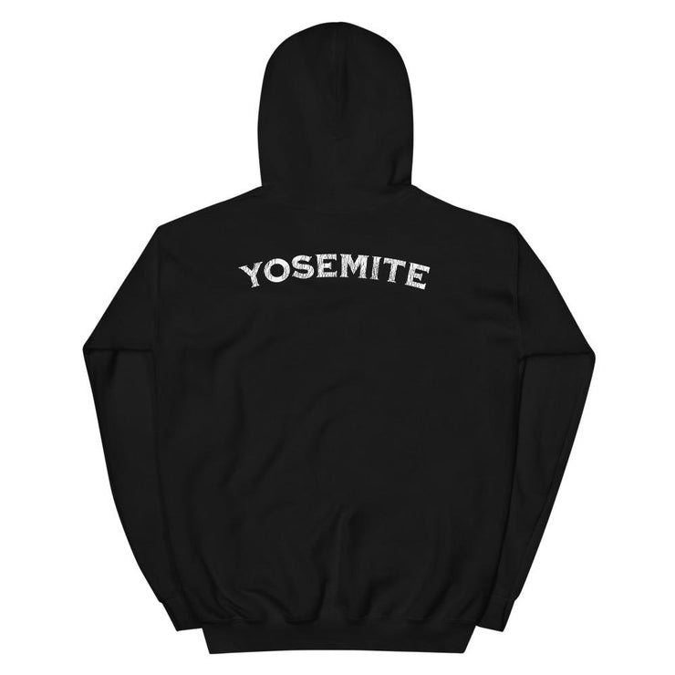 Yosemite Vintage Ink Front and Back Unisex Hoodie