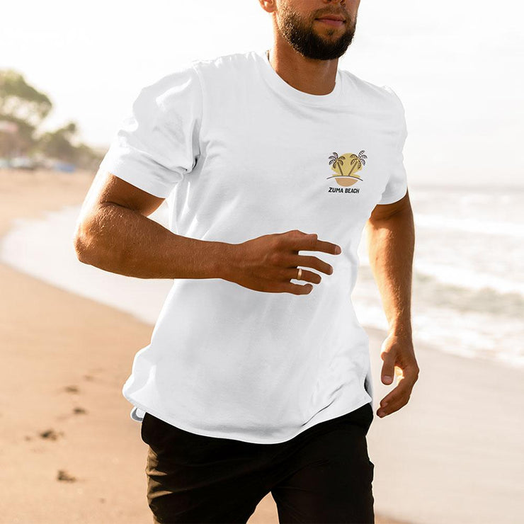 Zuma Beach Short-Sleeve Unisex T-Shirt