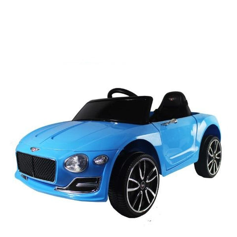 Bentley - Blue - 24v - 1 Seater (Customisable Logo)