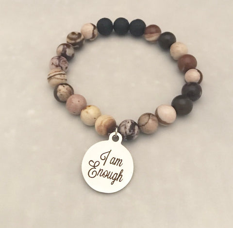 Earth Crystals Lava Stone Bracelets