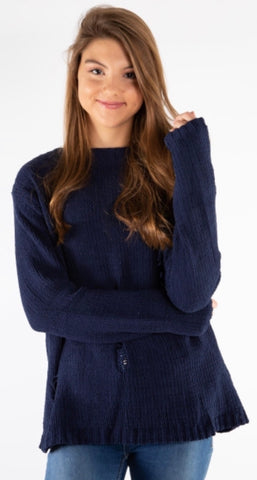 Chenille Baggy Sweater