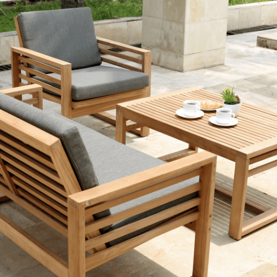 How to look after your new Teak Furniture - Cozy Furniture