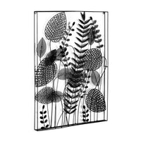 cozy-furniture-wall-art-decor-denecia-black-flower-leaves-metal-black-paint