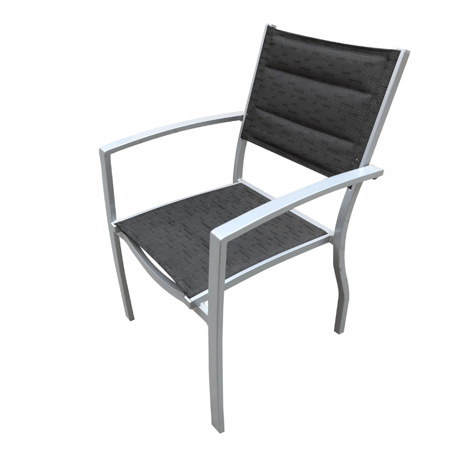 Gemini Padded Sling Chair - Cozy Indoor Outdoor Furniture