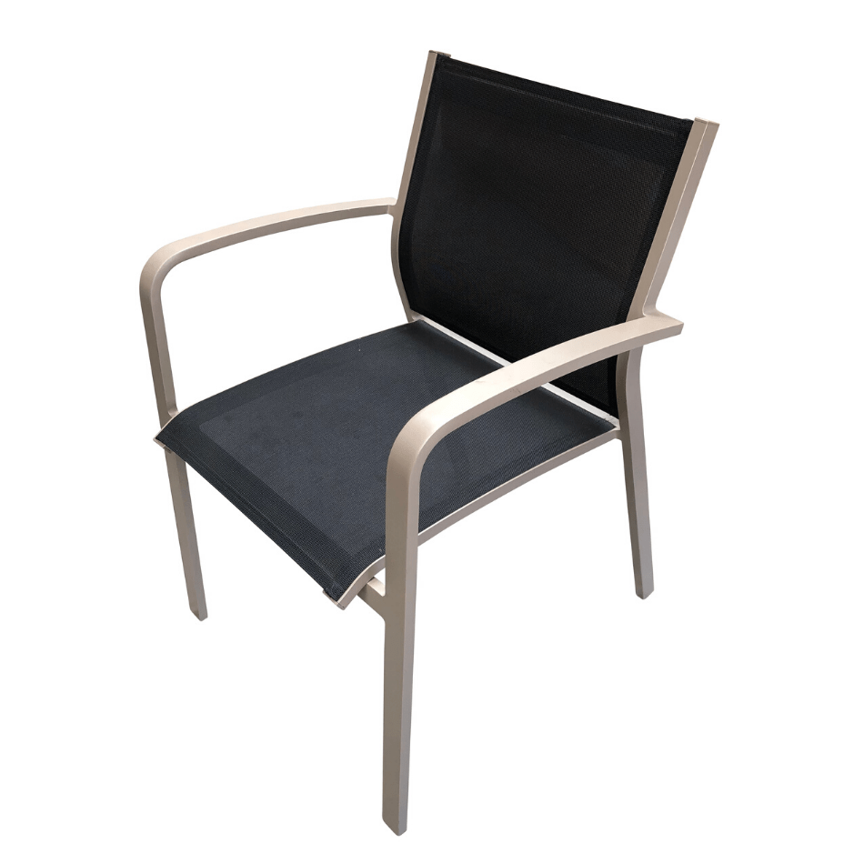 Luis Sling Dining Chair - Cozy Indoor Outdoor Furniture