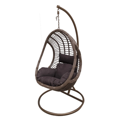 bamboo hanging egg chair swing cushion outdoor egg cozy furniture