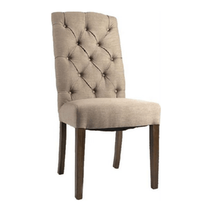 Felice Linen Dining Chair - Cozy Indoor Outdoor Furniture