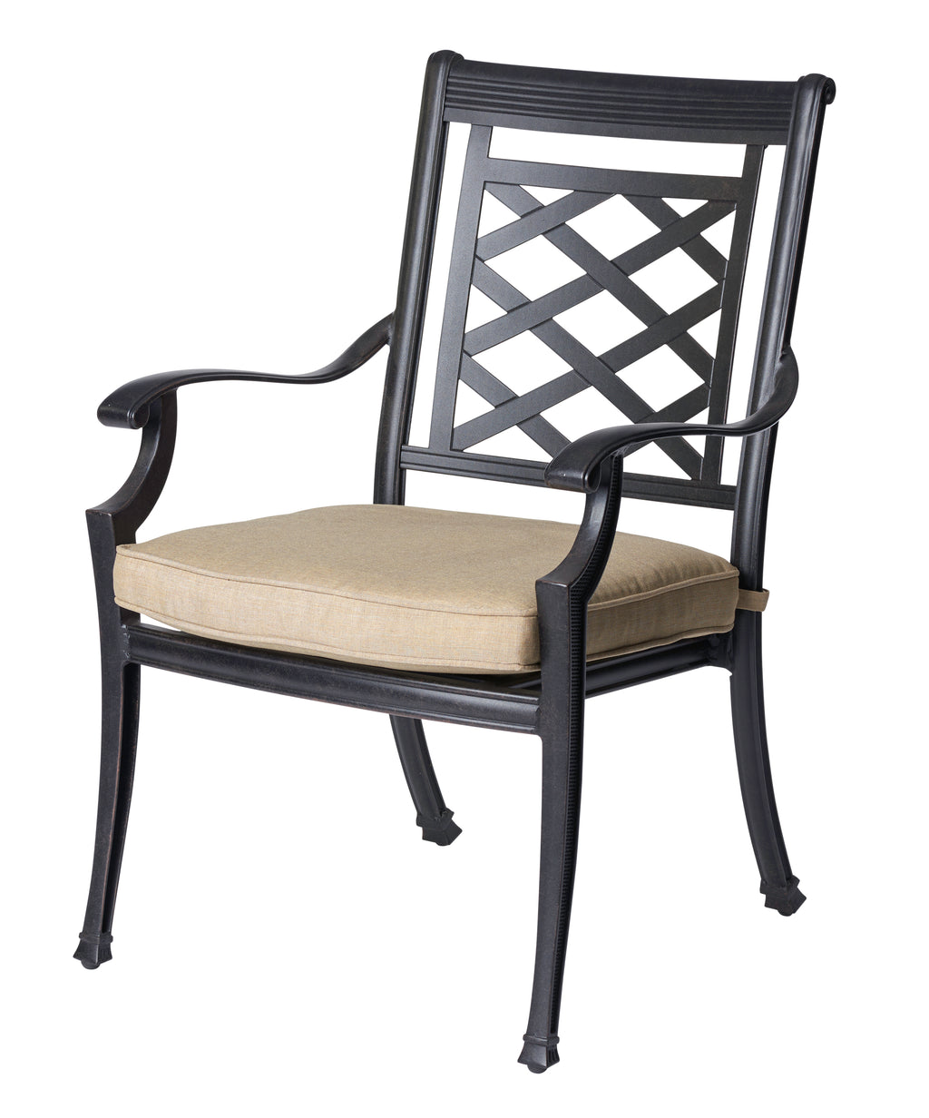 Yarra Cast Aluminium Chair - Cozy Indoor Outdoor Furniture