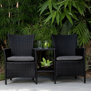 Ebony Jack and Jill Chair - Cozy Indoor Outdoor Furniture