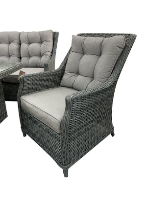 Swiss 6pce Lounge - Cozy Indoor Outdoor Furniture
