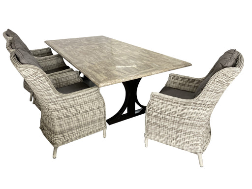 9pce pompeii dining table san jose dining chair outdoor furniture cozy furniture