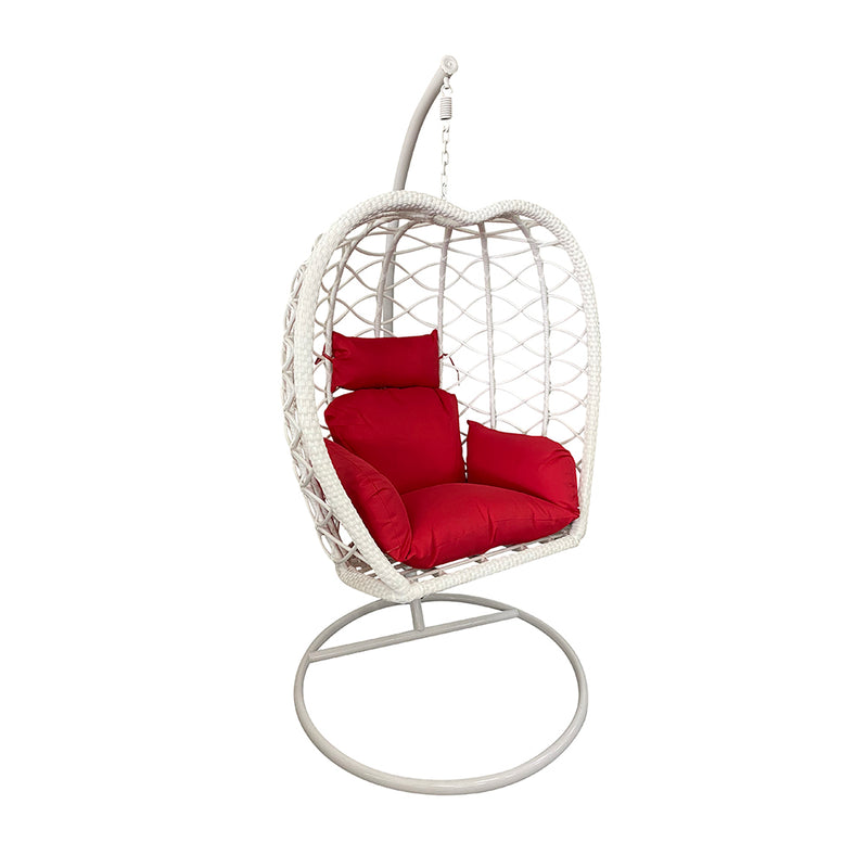 cozy-furniture-hanging-apple-swing-white-frame-red-cushion