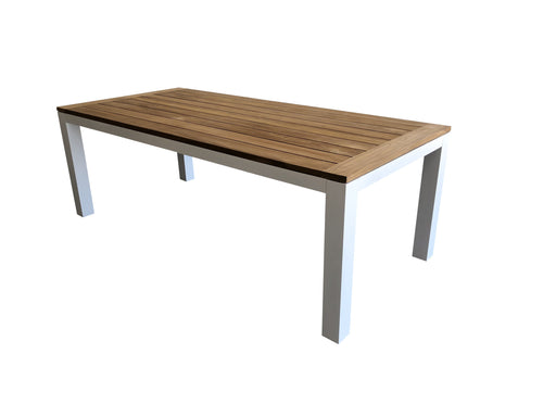 Sense dining table teak aluminium furniture outdoor furniture