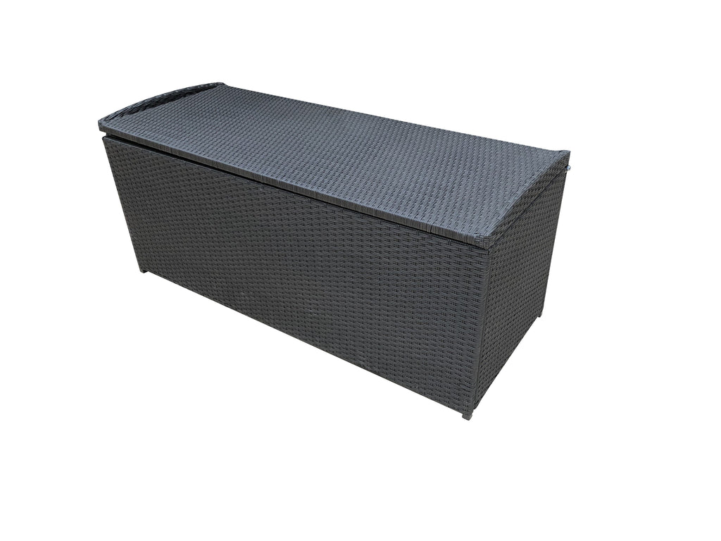 Moto Wicker Storage Box - Cozy Indoor Outdoor Furniture