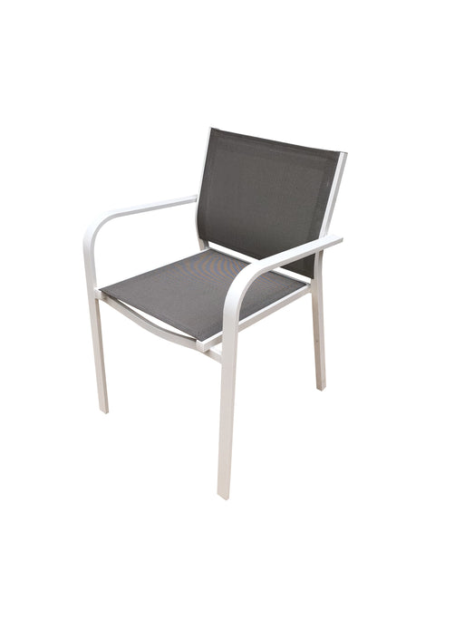 Vienna sling chair dining furniture outdoor aluminium powder coated furniture cozy furniture