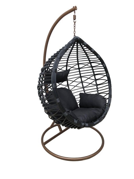 bamboo hanging egg chair outdoor basket cushion outdoor furniture cozy furniture accessories