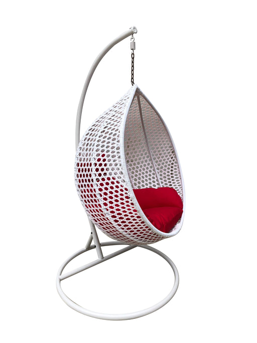 New Moon hanging egg chair outdoor swing garden chair outdoor furniture cozy furniture
