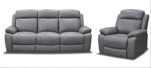 Sasha 3 Seater with Recliner Lounge Setting