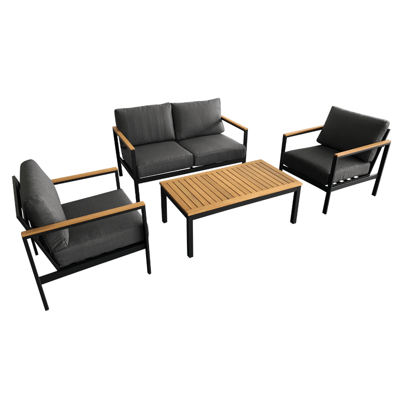4PCE Gatwick Lounge Setting - Cozy Indoor Outdoor Furniture