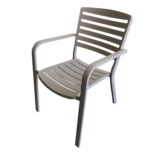 Pandora slat dining chair outdoor furniture patio Cozy Furniture