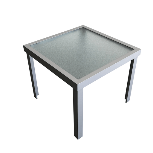 Bergen Coffee Table Silver 0.55m SQ