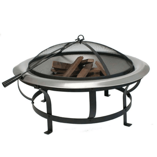 Stainless steel fire pit air wick car perfume