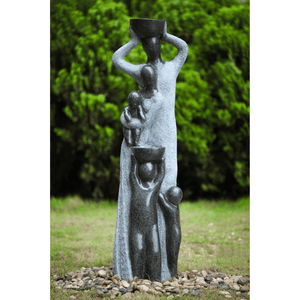 Familia Water Fountain - Cozy Indoor Outdoor Furniture