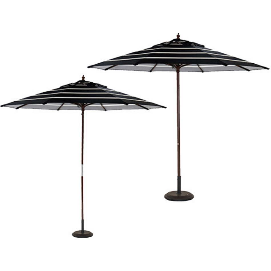 Amalfi and San Martino Centrepost Umbrella - Cozy Indoor Outdoor Furniture
