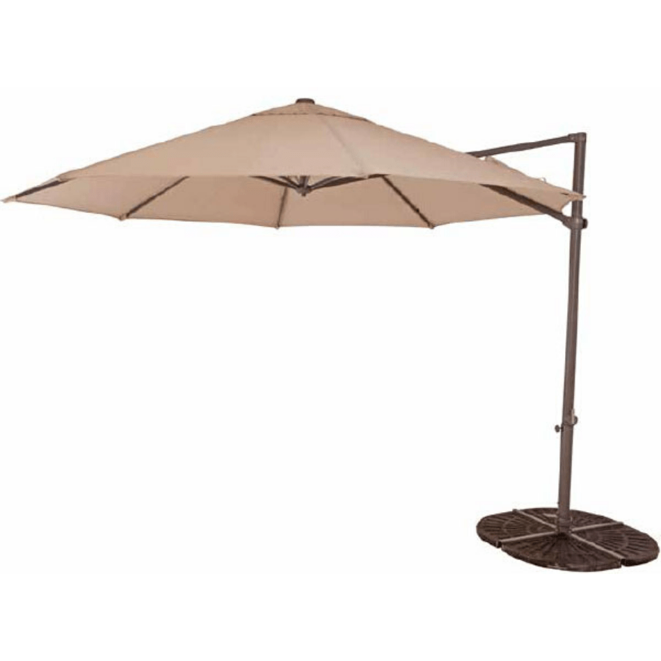 Pandanus 3.3m OCT Cantilever Umbrella - Cozy Indoor Outdoor Furniture