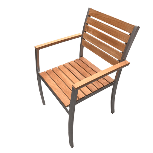 paris teak dining chair cozy furniture outdoor hardwood steel chair