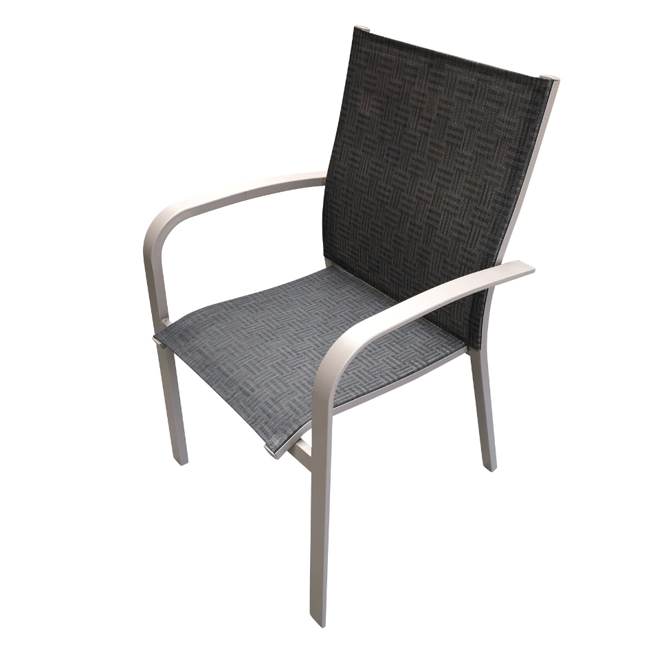 Atlantis Sling Dining Chair - Cozy Indoor Outdoor Furniture