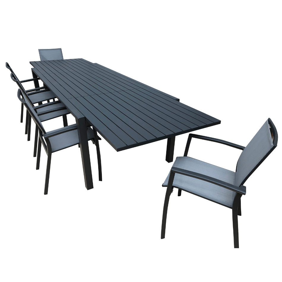 9PCE Matzo Extension & Roma Dining - Cozy Indoor Outdoor Furniture