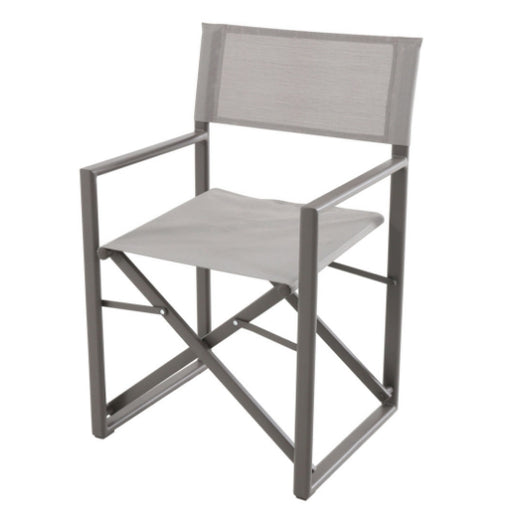 Director Chair Folding Aluminium Dining - Cozy Furniture