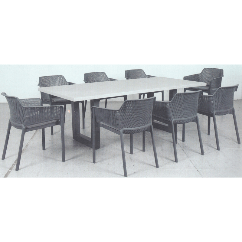 Osaka & Lido Dining Setting - Cozy Indoor Outdoor Furniture