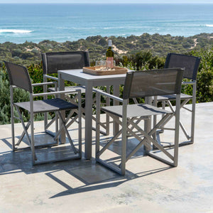 Director Aluminium Chair - Cozy Indoor Outdoor Furniture