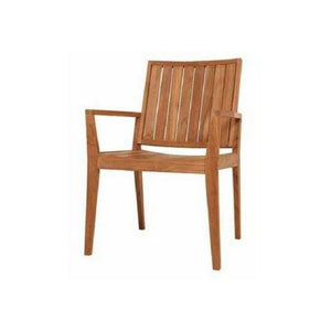 Winton Teak Dining Chair - Cozy Indoor Outdoor Furniture