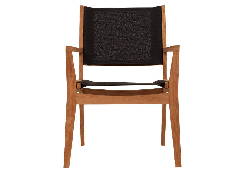 Winton Teak Sling Dining Chair