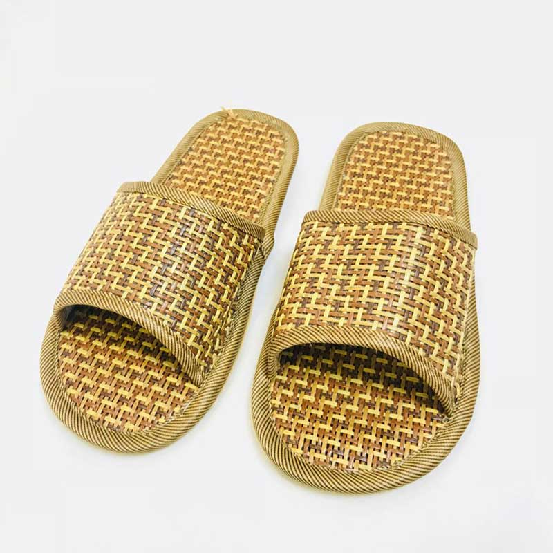 54dff74c5b02 Natural Bamboo Rattan Summer Comfort Slippers - Doactiv