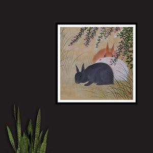 Three Rabbits - Venus Art Prints