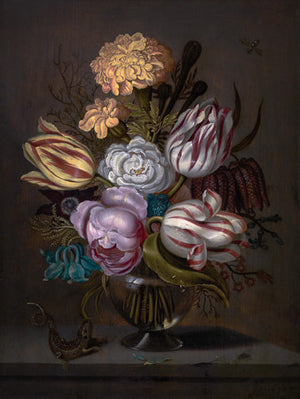 Dutch Still Life Flower Painting - Venus Art Prints