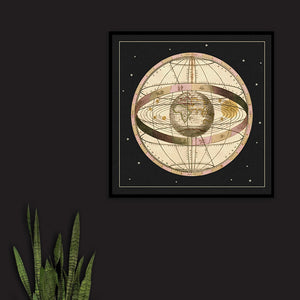 Cosmological Map - Venus Art Prints