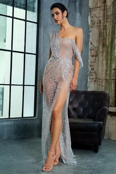 Liza Gown - Silver