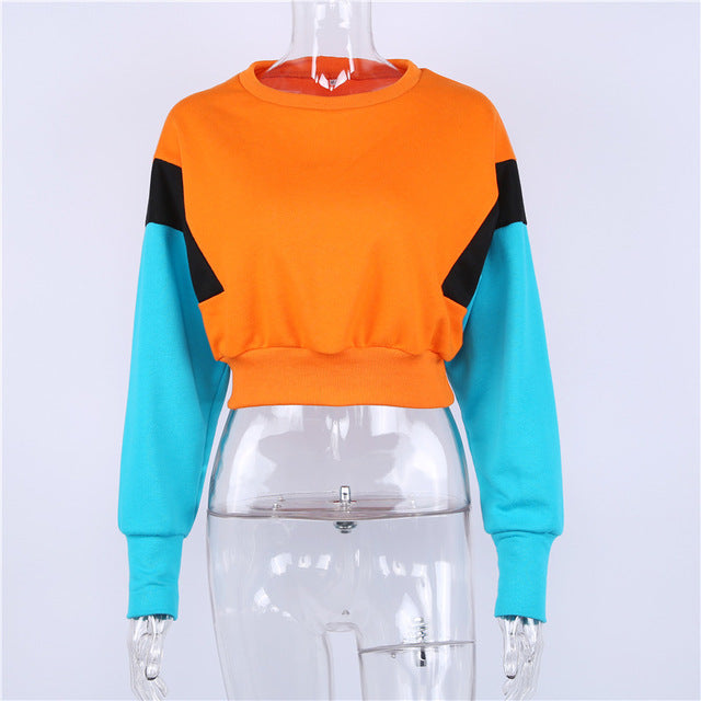 New Women Spring Autumn Cute Pink color Orange Hoodies